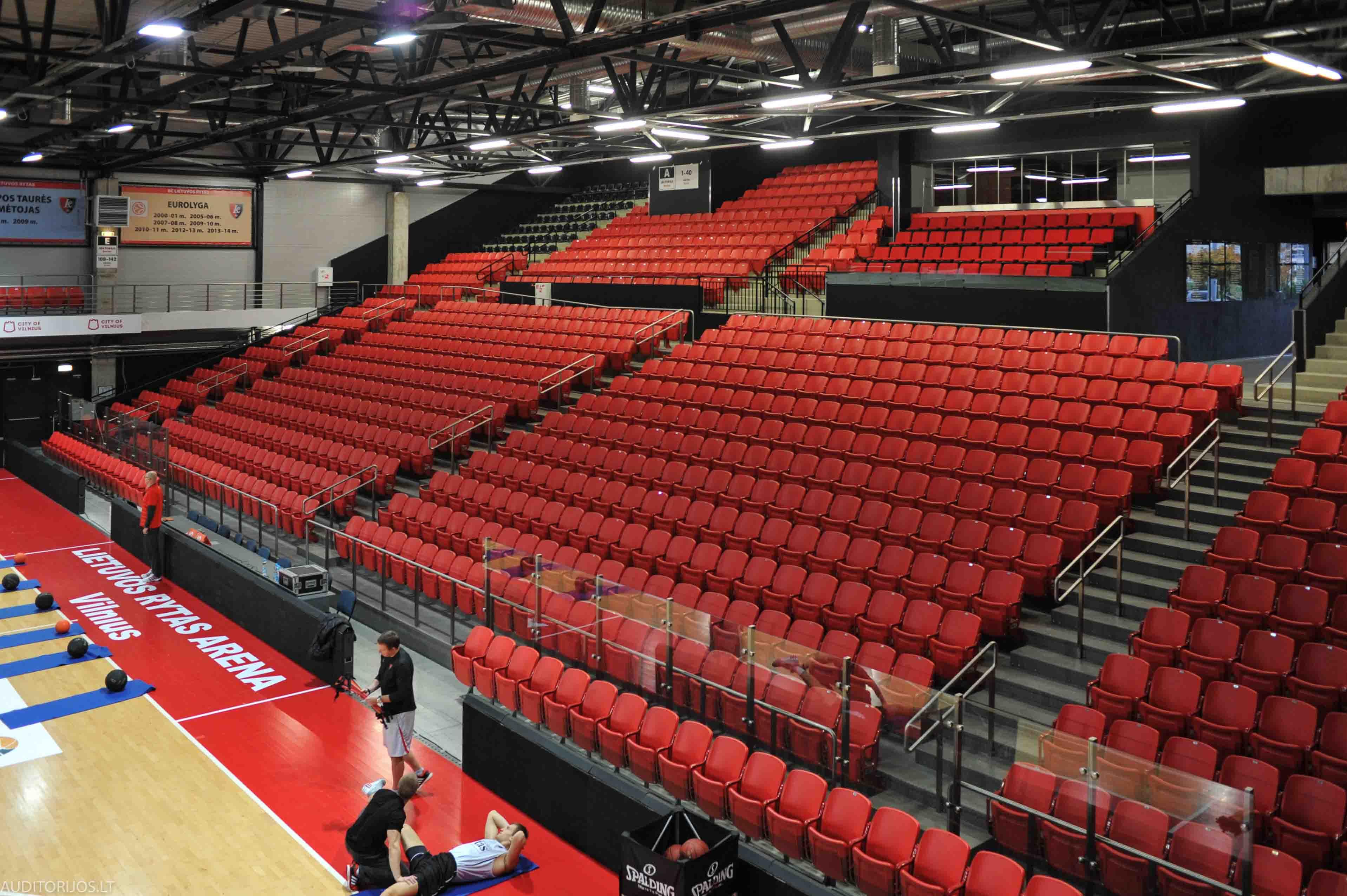 Lietuvos Rytas Arena Seating Vertika DSC_3344