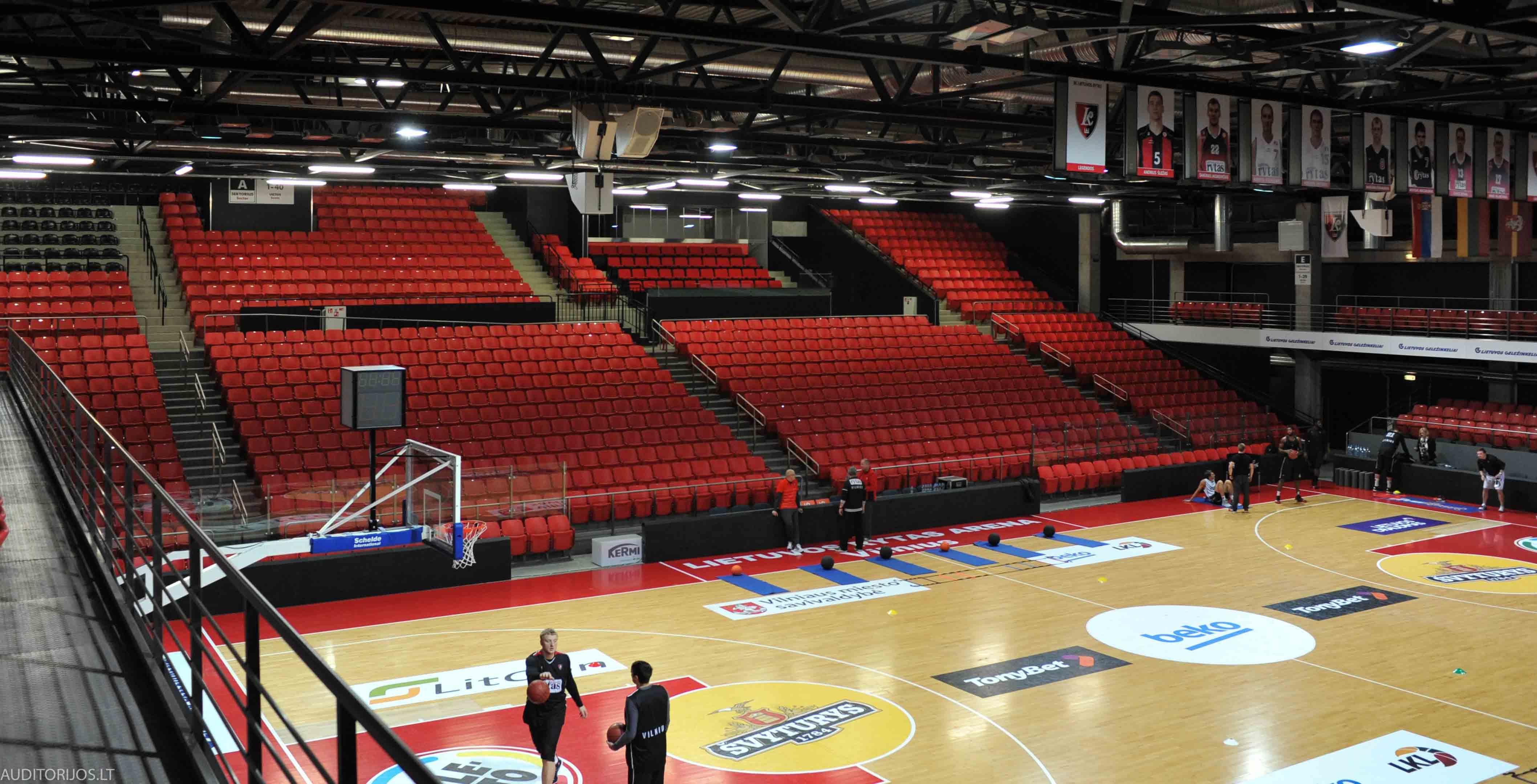 Lietuvos Rytas Arena Seating Vertika DSC_3357
